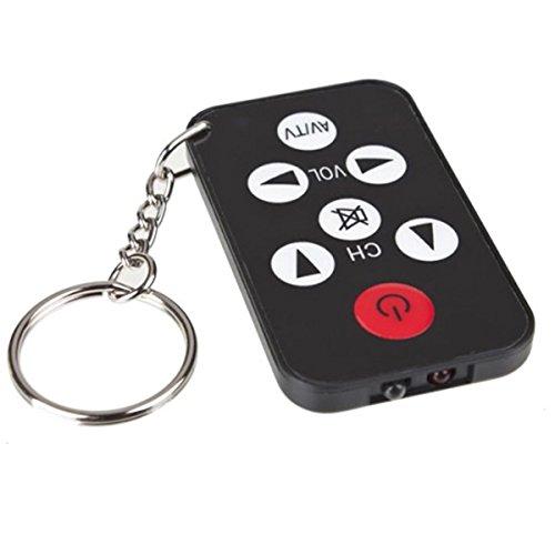 ueetek Mini Schlüsselanhänger Schlüsselanhänger Universal-Fernbedienung IR Fernseher