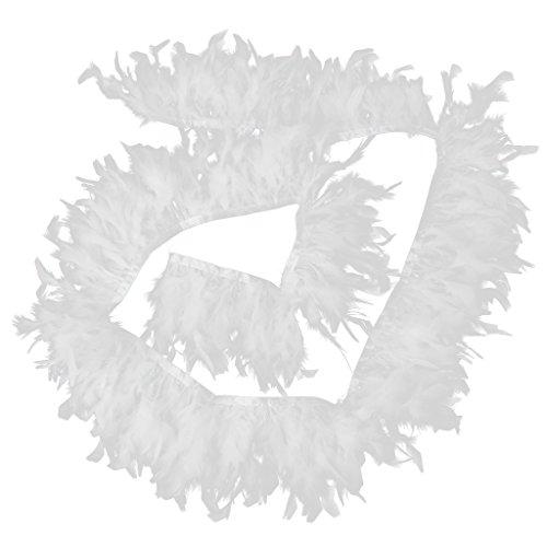�rkei Federn Federn Schals Federboa Blumenstrauß Verpackung Hochzeiz Federn DIY Handwerk Feder (Diy-türkei-kostüm)