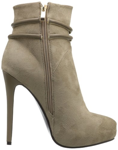 Plateau-Stiefeletten WHOA GIRL by Luichiny Taupe (grau)