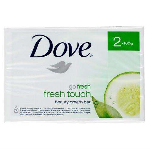 Dove Go Fresh Fresh Touch Beauty Cream Bars , 3 double bars by Dove (Cream Fresh Beauty Touch)