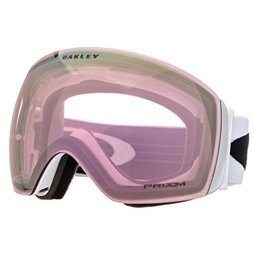 Oakley Herren Flight Deck 705038 0 Sportbrille, Weiß (Matte White/Prizmhipinkiridium), 99