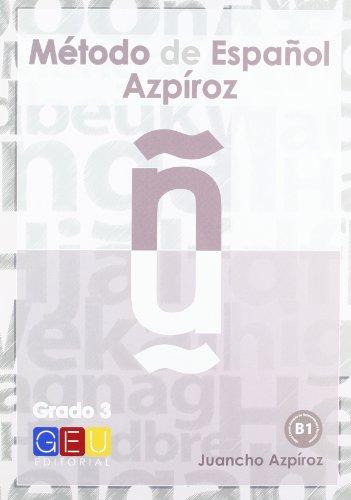 Método de Español Azpíroz grado 3