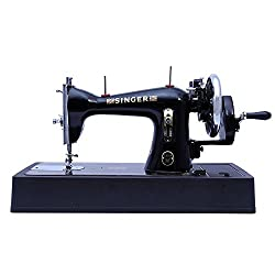 Singer Tailor Delux Straight Stitch Hand Sewing Machine (Black)