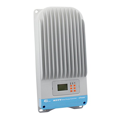 Hohe Effizienz 60A 12V/24V/36V/48V MPPT Solarladeregler Solarmodul Solarpanel mit LCD-Display, Computer Verbindung und Advanced Control Einstellungen - Charge Solar 36v Controller