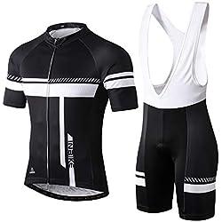 e59435d53 INBIKE Maillot Ciclismo Corto De Verano para Hombre, Ropa Culote Conjunto  Traje Culotte Deportivo con