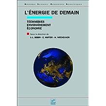 L'énergie de demain: Techniques, environnement, économie