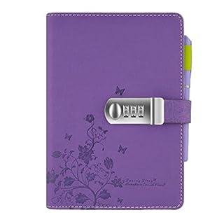 Cuzit Tagebuchmappe mit Blumenmotiv