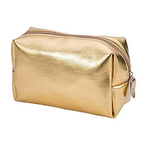 MML Cosmetic Bag, Vanity or doré