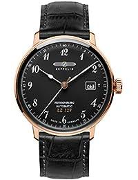 Zeppelin Unisex-Armbanduhr Chronograph Quarz Leder 7068-2