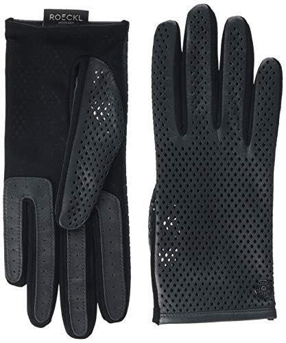 Roeckl Damen Sporty Rhomb Conductive Handschuhe, Grau (Stone 060), 7.5