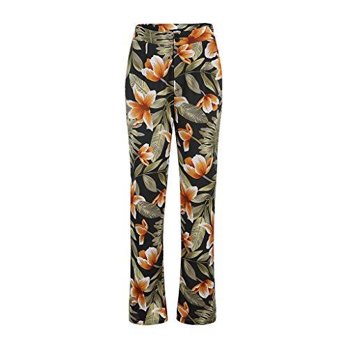 cinnamou Mode Dame Sexy Camouflage Hose Yoga Hosen Joga Running Sport Hosen Blumenmuster Weite Bein Lange Hose Harem Hosen