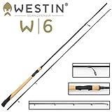 Westin W6 Spin 300cm MH 10-40g Spinnrute Meerforelle, Spinnangeln an der Küste, Angelrute für Meerforellen, Mefor-Rute, Meerforellenrute,