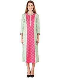 Nikasha Women's Cotton A-Line Dress