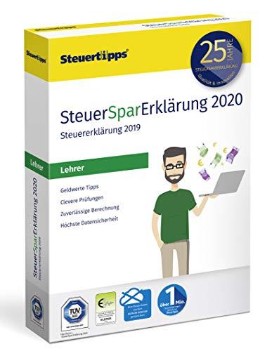 41T5hRy4Q%2BL - SteuerSparErklärung für Lehrer 2020, Schritt-für-Schritt Steuersoftware für die Steuererklärung 2019, Steuer CD-Rom für Windows 10, 8
