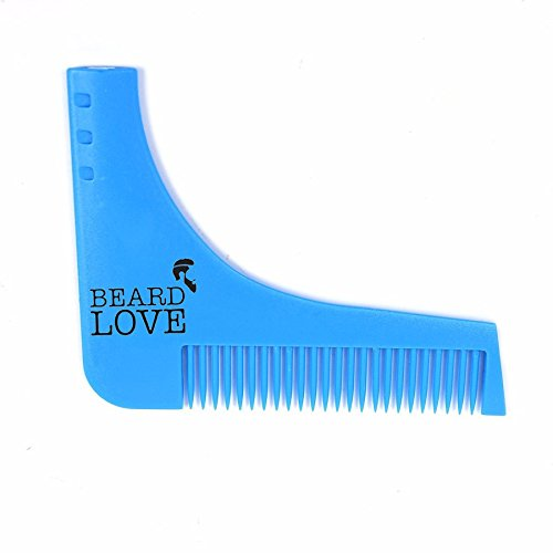 Beard Love Beard Shaping & Styling Tool Comb for Perfect...