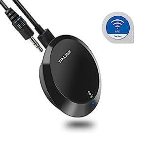 Tp-link HA100 Bluetooth Ricevitore Musicale, Bluetooth 4.1, NFC, Trasmette fino a 20 metri di distanza, Ampia Compatibilità, Si collega con connettori 3.5mm o RCA