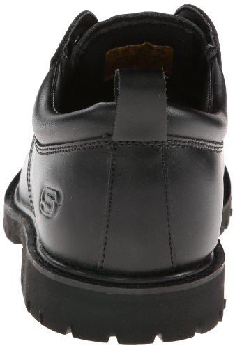 77019 O Trabalho Álamo Skechers Para Trabalho Em Fribble Antiderrapante Preto Sapato wRqqt0