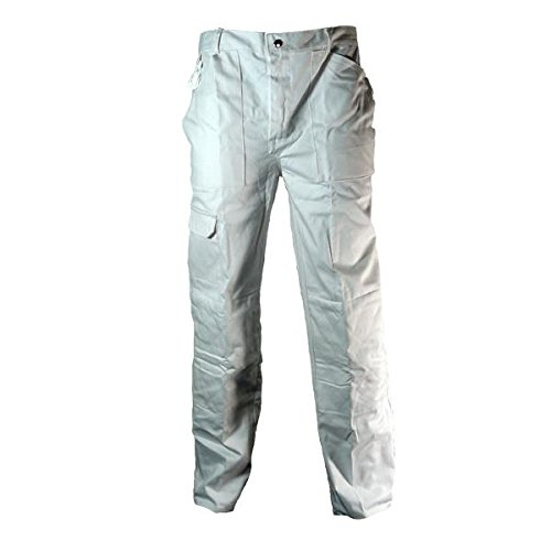 prodec-painters-decorators-white-work-trousers-with-quilted-knee-and-kneepad-pockets-waist-38