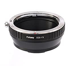 Fotasy FXEF Canon EOS EF/EFS Lens to Fujifilm X Mount Camera Adapter