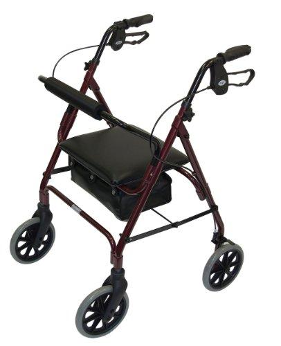 Patterson Medical - Andador ligero aluminio ruedas