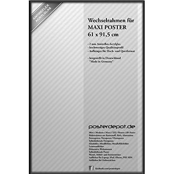 Amazon.de: Bilderrahmen f. Maxi Poster - Größe 61 x 91, 5 cm ...