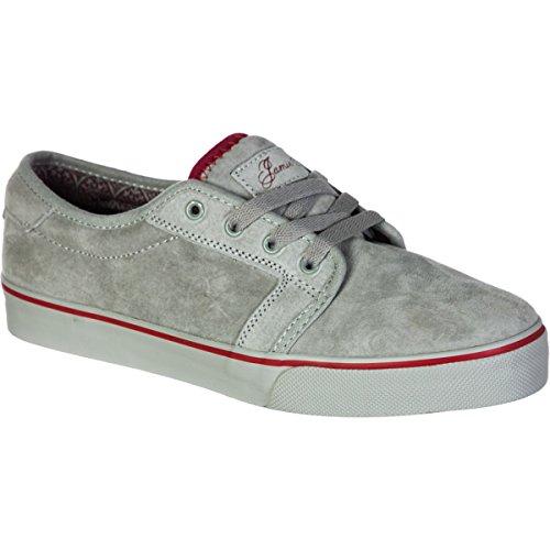 Fallen FORTE 41070029, Chaussures de skateboard mixte adulte Blanc Cassé - Smoke/Brick