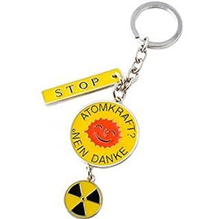 Schlüsselanhänger Atomkraft nein Danke von Gift Company Nr.:72685