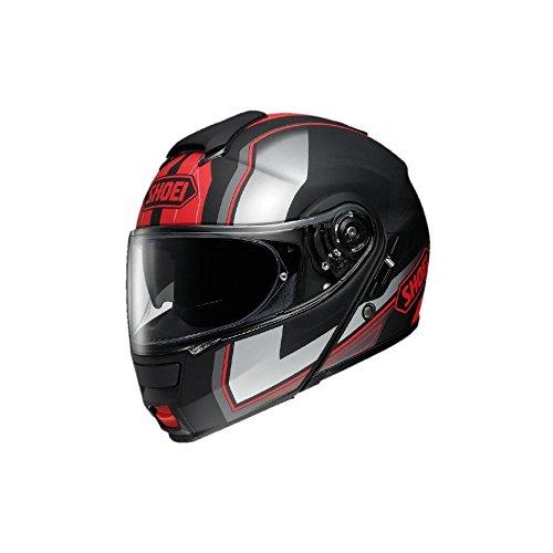 Preisvergleich Produktbild Shoei Neotec Imminent TC-1 Klapphelm,  Farbe matt schwarz-rot,  Größe L