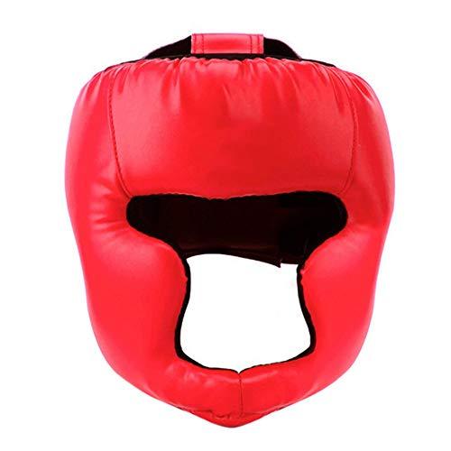 EFINNY Boxing Headgear Sanda Training Helmet Head