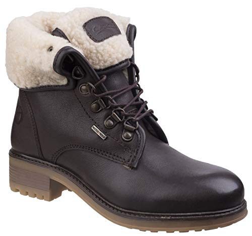 Womens Waterproof Combat Boot (Cotswold Womens/Ladies Asthall Waterproof Breathable Lined Ankle Boots)