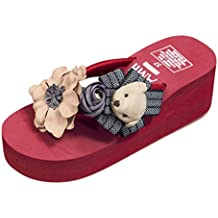 Darringls_Sandalias de Primavera Mujer,Zapatillas Zapatos de cuña Verano Pellizcar Botas Sandalias de Playa Punta