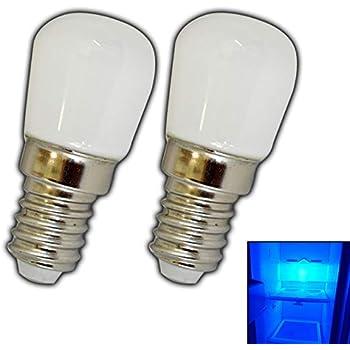 Lampadina e14 led 1 5 watt luce blu per frigorifero for Lampadine led 1 watt