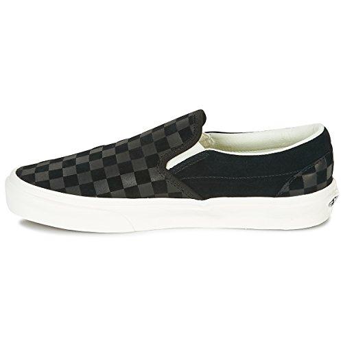 Vans Classic Slip-on, Sneaker Infilare Unisexe - Adulte Nero (crayon À Relief)