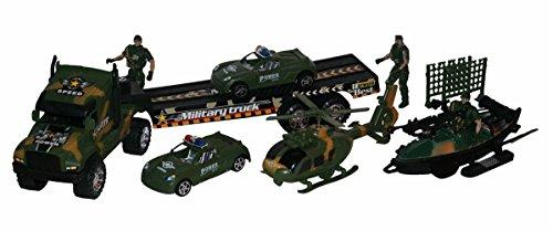 Großes Action Army Armee Militär Set Spielzeug Spielset Spielfiguren und Fahrzeuge NEU