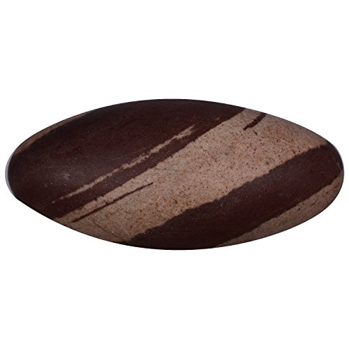 Kriwin Narmadeshwar Shivling( 40-50 grams) with Free Gold Plated Navgrah Yantra ( 5 cms X 5 cms )