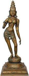 Goddess Parvati - Bronze Statue from Swamimalai