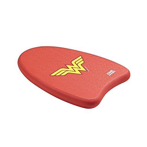 Zoggs Mädchen Wonderwoman-Mini Kickboard Schwimmlernhilfe, Red, One Size