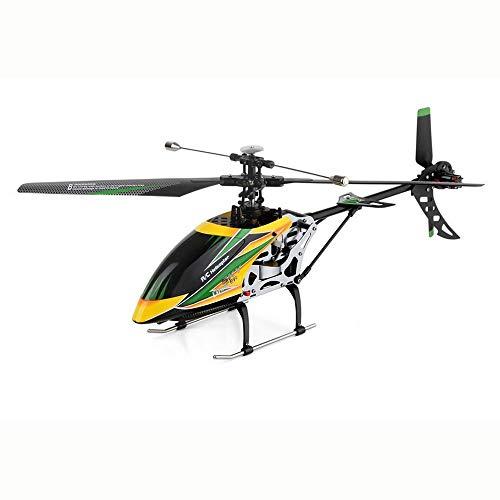 ELVVT Kleine RC Hubschrauber V912 2,4 GHz 4-Kanal Indoor Outdoor RC Single Paddle-Fernbedienung Hubschrauber mit Scheinwerfer Licht RC Quadcopter Kinder und Erwachsene Geburtstag (4 Kanal Hubschrauber Outdoor)