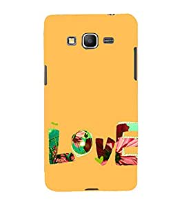 Love and Life 3D Hard Polycarbonate Designer Back Case Cover for Samsung Galaxy Grand Prime :: Samsung Galaxy Grand Prime Duos :: Samsung Galaxy Grand Prime G530F G530FZ G530Y G530H G530FZ/DS