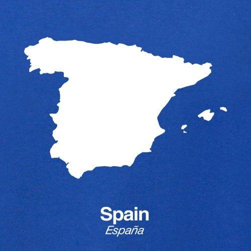 Spain / Spanien Silhouette - Herren T-Shirt - 13 Farben Royalblau