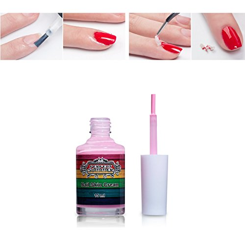 Perfect Summer 15ml Rose Peel Off Base Coat Ruban Nail Art Liquide Palissade Manucure
