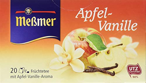 Meßmer Apfel-Vanille, 20 Beutel, 10er Pack (10 x 55 g)