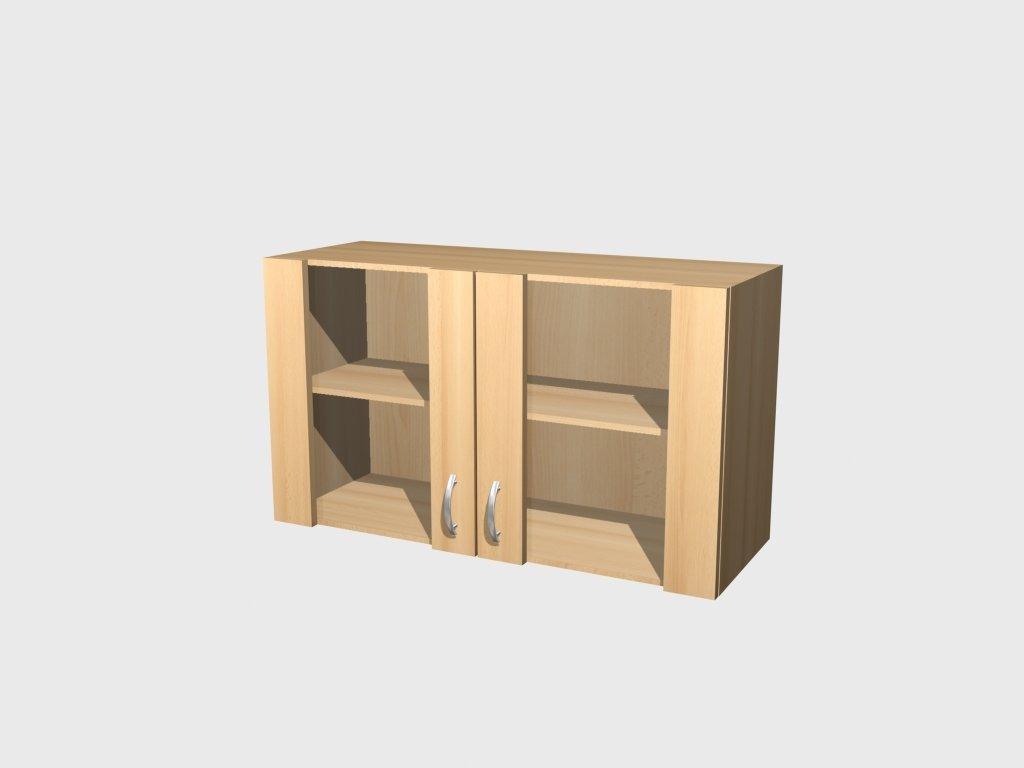 glas h ngeschrank buche 100 cm namu m. Black Bedroom Furniture Sets. Home Design Ideas