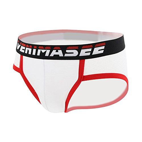 VENI MASEE® New Fashion Sport Modal Unterwäsche der Herren Kurz weiß1