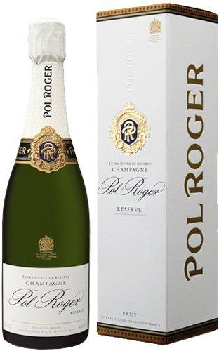 Pol Roger Brut Reserve NV Champagne 75cl Gift Boxed