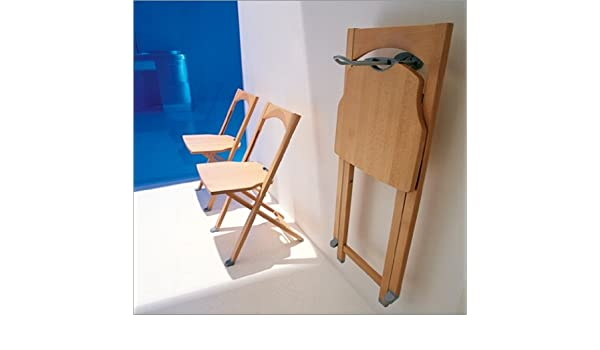 Unique Calligaris Olivia 45cm Wooden Folding Chair Amazon Kitchen & Home Lovely - Modern cloth folding chairs Minimalist