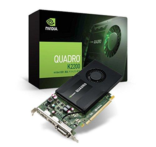 ELSA NVIDIA Quadro K2200 4GB グラフィックボード EQK2200-4GER