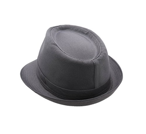 Classic Italy - Chapeau trilby Classic Trilby gris-fonce