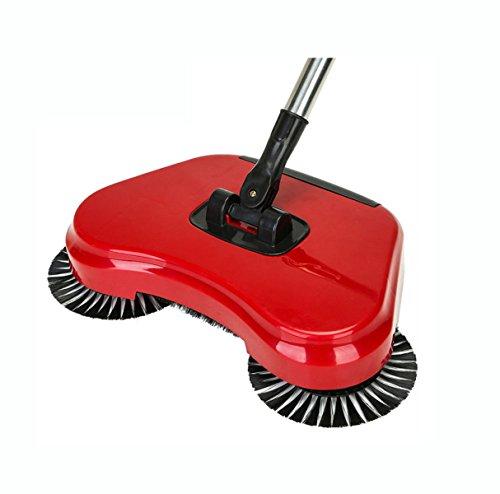 FOKN Hand-kehrmaschine Hause Wireless Ohne Strom Faul Menschen Vakuum Automatische Besen Kombination Faulbesen Mopp,B (Kommerzielle Manuelle Vakuum)
