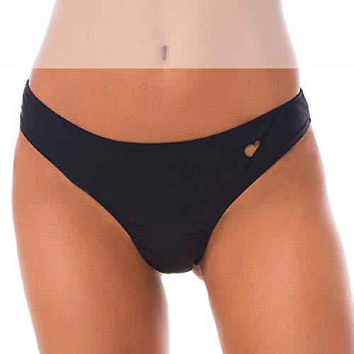 Voqeen Damen Bikinihose Tanga Unterwäsche Badehose Unterhosen Frauen Bikini Bottom Herzform Bademode Slip Brazilian Sexy Bikini Thong String Tanga Bikinihose Tankinihose Schwimmhose -